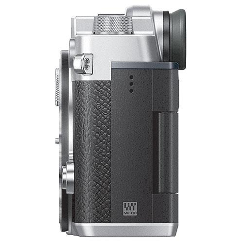 PEN-F Mirrorless Camera Body in Silver Product Image (Secondary Image 4)