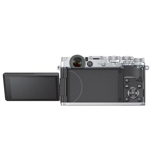 PEN-F Mirrorless Camera Body in Silver Product Image (Secondary Image 5)