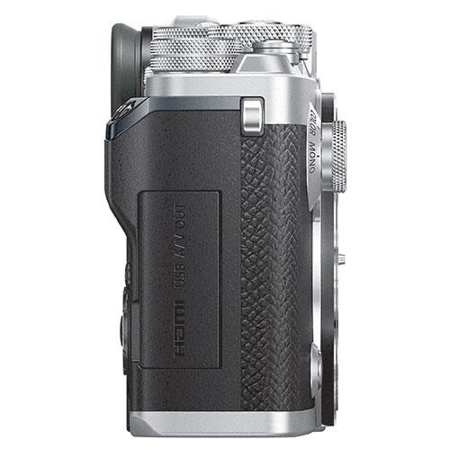 PEN-F Mirrorless Camera Body in Silver Product Image (Secondary Image 6)
