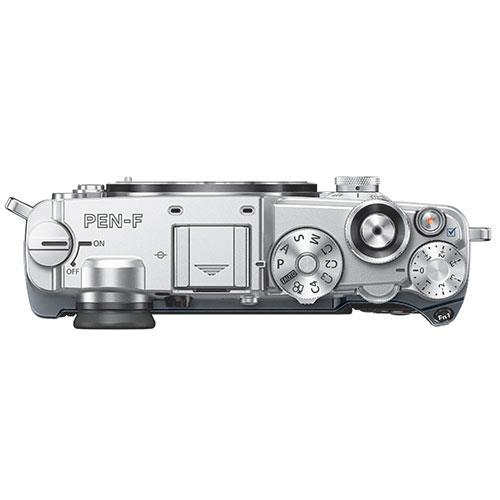 PEN-F Mirrorless Camera Body in Silver Product Image (Secondary Image 7)