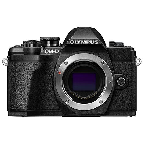 OM-D E-M10 Mark III Mirrorless Camera Body in Black Product Image (Primary)