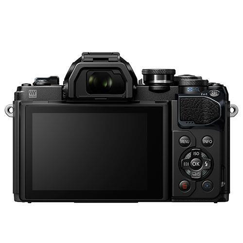 OM-D E-M10 Mark III Mirrorless Camera in Black with 14-42mm and 40-150mm Lenses Product Image (Secondary Image 1)
