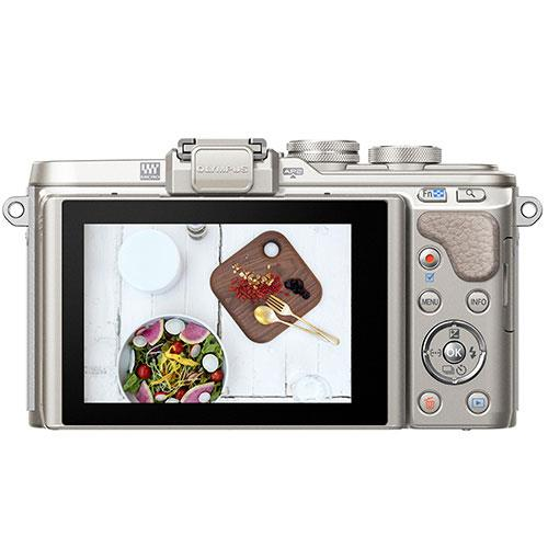 Olympus PEN E-PL8 Mirrorless Camera in White with 14-42mm EZ Lens - Ex Display Product Image (Secondary Image 1)