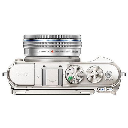 PEN E-PL9 Mirrorless Camera in White with 14-42mm EZ Lens - Ex Display Product Image (Secondary Image 3)