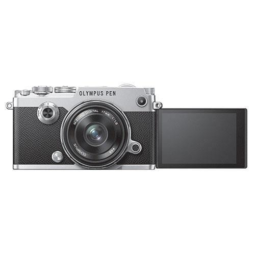 PEN-F Mirrorless Camera in Silver with 17mm f/1.8 Lens - Ex Display Product Image (Secondary Image 2)