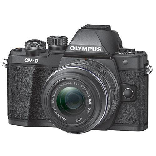 OM-D E-M10 Mark II Compact System Camera in Black with 14-42mm Lens - Ex Display Product Image (Secondary Image 1)