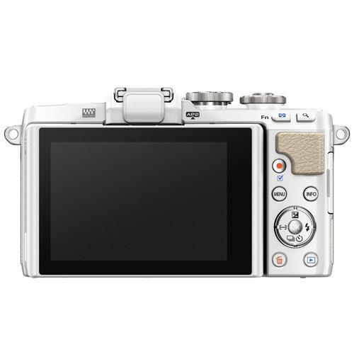 PEN E-PL7 Mirrorless Camera in White with 14-42mm EZ Lens - Ex Display Product Image (Secondary Image 2)