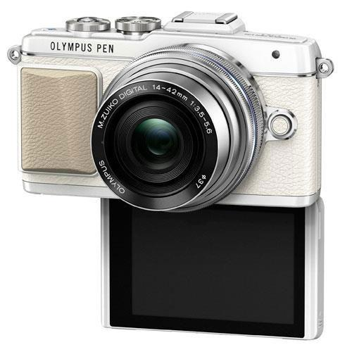PEN E-PL7 Mirrorless Camera in White with 14-42mm EZ Lens - Ex Display Product Image (Secondary Image 3)