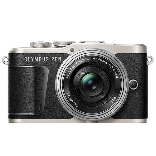 PEN E-PL9 Mirrorless Camera in Black with 14-42mm EZ Lens - Ex Display Product Image (Secondary Image 1)