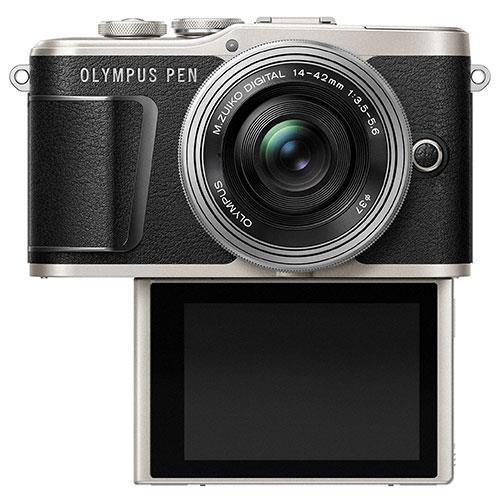 PEN E-PL9 Mirrorless Camera in Black with 14-42mm EZ Lens - Ex Display Product Image (Secondary Image 3)