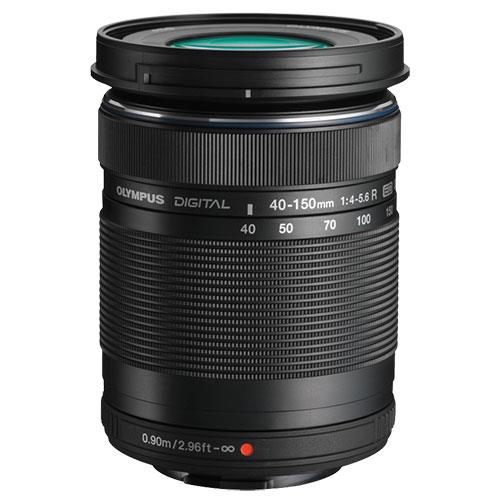 E-M10 Mark IV Mirroless Camera in Black with 14-42mm F3.5-5.6 II R and 40-150mm F4-5.6 R Lenses Product Image (Secondary Image 4)