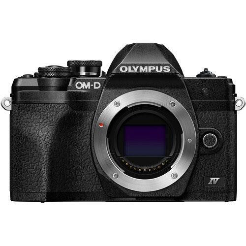 OM-D E-M10 Mark IV Mirrorless Camera in Black with 14-150mm Lens Product Image (Secondary Image 1)