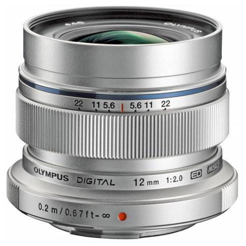 M.Zuiko Digital ED 12mm f/2.0 Lens Product Image (Primary)