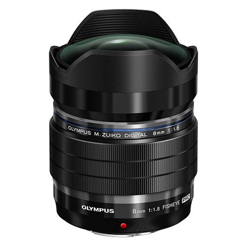 M.ZUIKO 8mm f/1.8 Lens Product Image (Secondary Image 1)