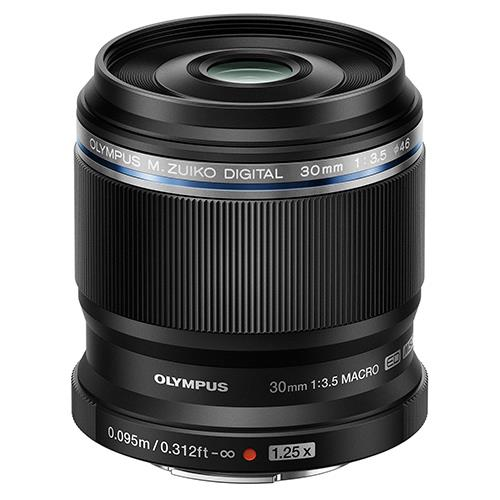 M.ZUIKO DIGITAL ED 30mm f/3.5 Macro Lens Product Image (Primary)