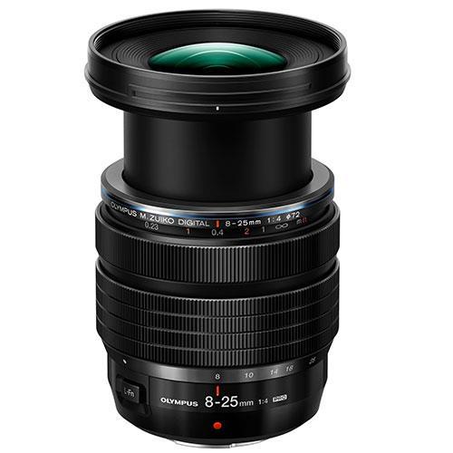 M.Zuiko 8-25mm f4.0 Pro Lens Product Image (Secondary Image 1)