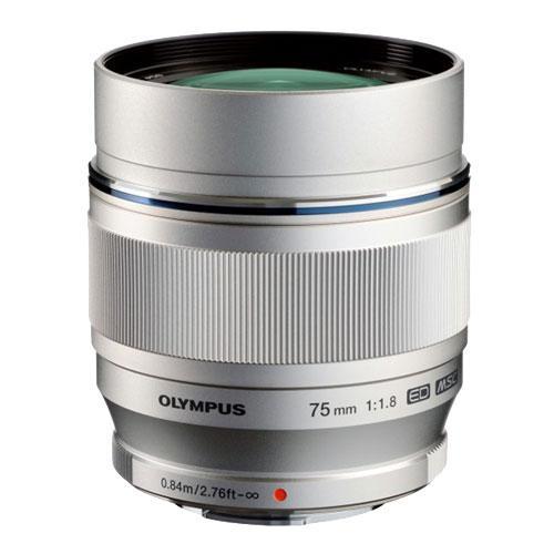 M.ZUIKO Digital ED 75mm f/1.8 Lens Product Image (Primary)