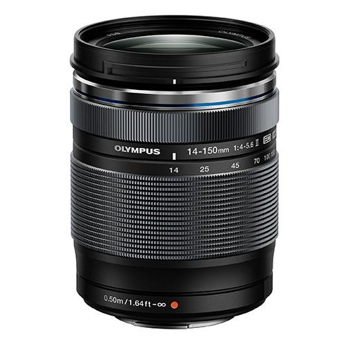 M.Zuiko Digital 14-150mm f/4.0-5.6 II Telephoto Lens Product Image (Primary)