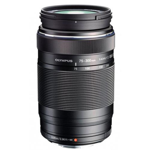 M.Zuiko Digital ED 75-300mm f/4.8-6.7 II Lens  Product Image (Primary)