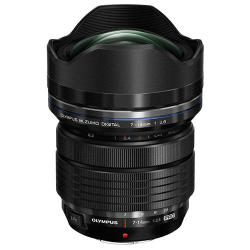 M.ZUIKO ED 7-14mm f/1:2.8 Lens Product Image (Primary)