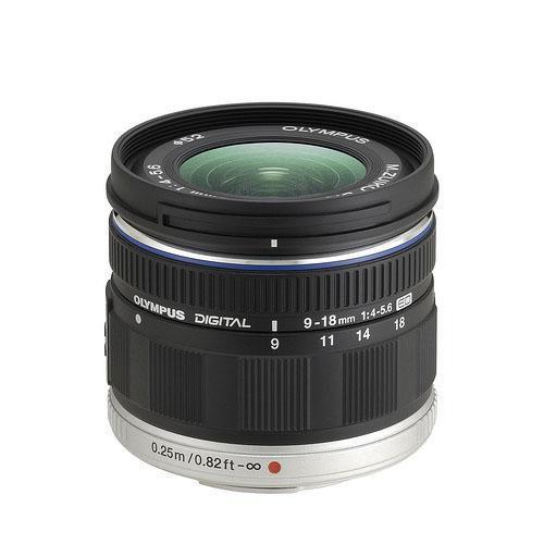 M.Zuiko Digital ED 9-18mm f4-5.6 Lens - Ex Display Product Image (Primary)