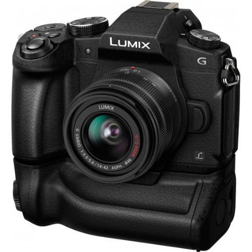 Battery Grip DMW-BGG1 for the Panasonic Lumix DMC-G80 Product Image (Secondary Image 4)