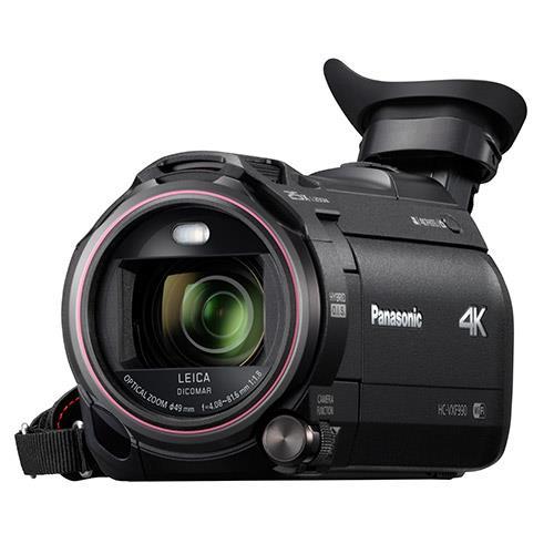 HC-VXF990 4K Camcorder Product Image (Secondary Image 2)