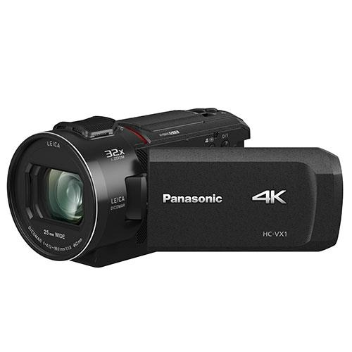 HC-VX1 4K Camcorder Product Image (Primary)