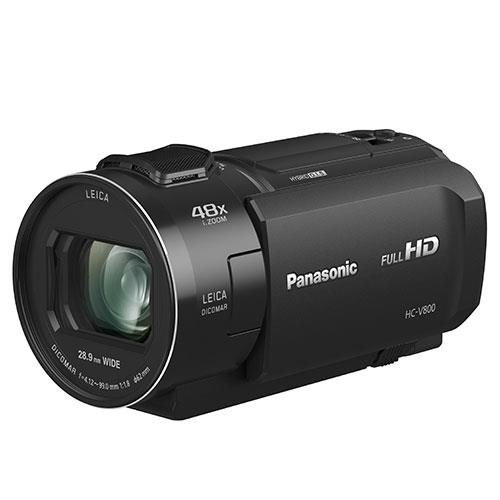 HC-V800 HD Camcorder Product Image (Secondary Image 2)