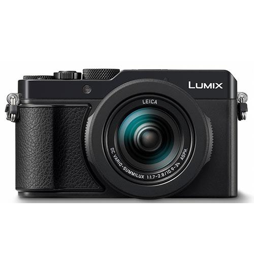 Lumix DMC-LX100 Mark II Digital Camera in Black Product Image (Primary)