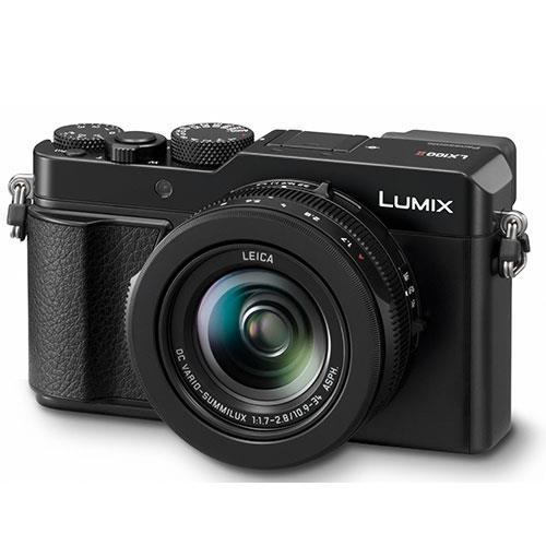 Lumix DMC-LX100 Mark II Digital Camera in Black Product Image (Secondary Image 1)