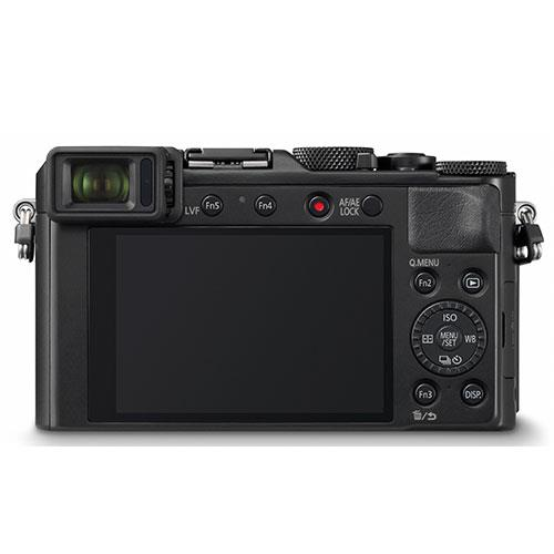 Lumix DMC-LX100 Mark II Digital Camera in Black Product Image (Secondary Image 2)