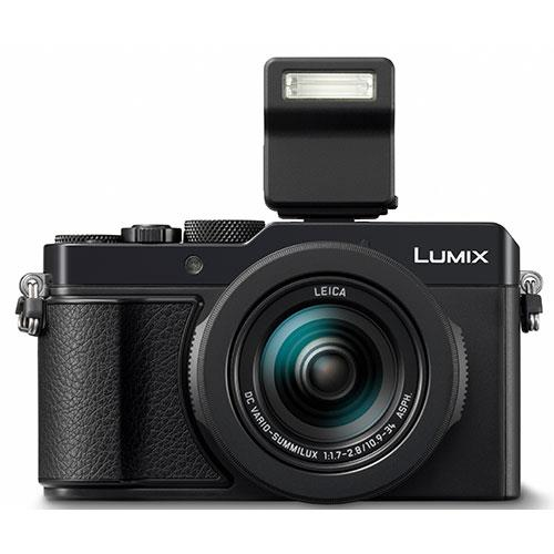 Lumix DMC-LX100 Mark II Digital Camera in Black Product Image (Secondary Image 4)