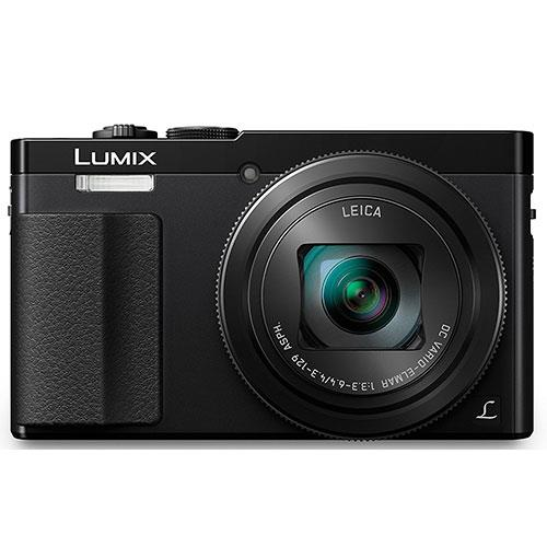 Lumix DMC-TZ70 Camera in Black Product Image (Secondary Image 1)