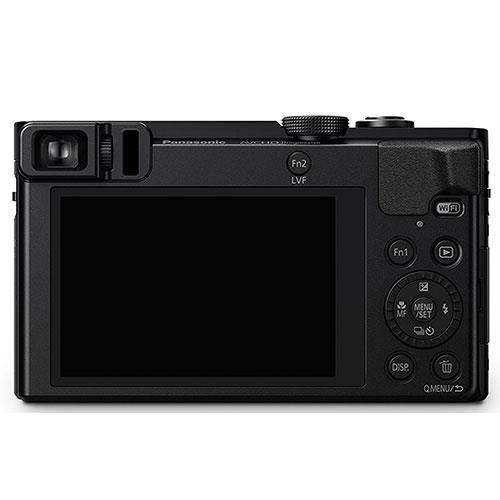Lumix DMC-TZ70 Camera in Black Product Image (Secondary Image 2)