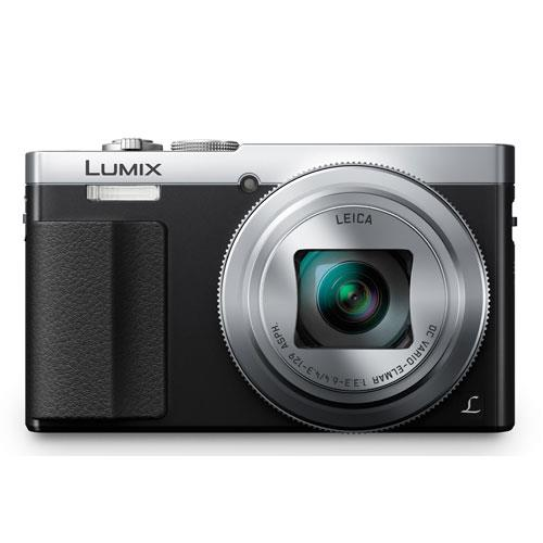 Lumix DMC-TZ70 Camera in Silver Product Image (Secondary Image 1)