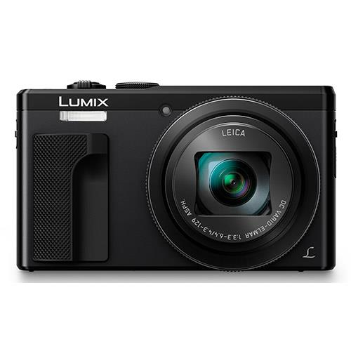 Lumix DMC-TZ80 Camera in Black Product Image (Secondary Image 1)