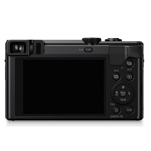 Lumix DMC-TZ80 Camera in Black Product Image (Secondary Image 2)