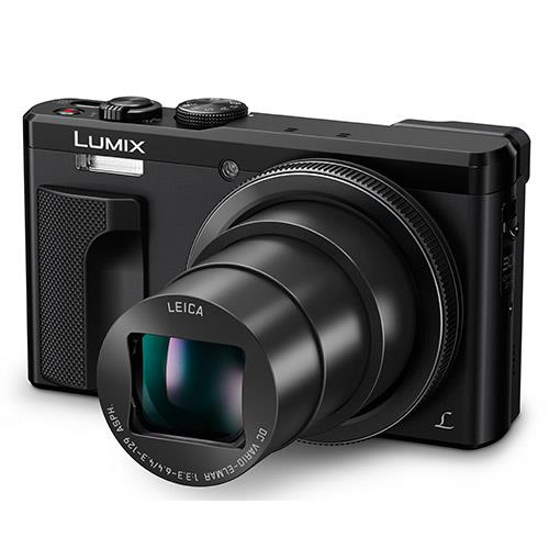 Lumix DMC-TZ80 Camera in Black Product Image (Secondary Image 3)