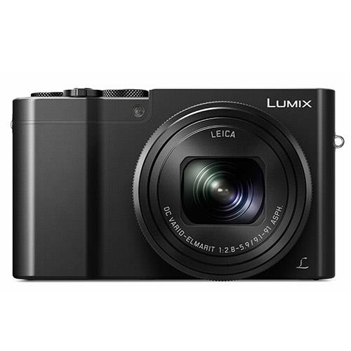 Lumix DMC-TZ100 Camera in Black Product Image (Secondary Image 1)