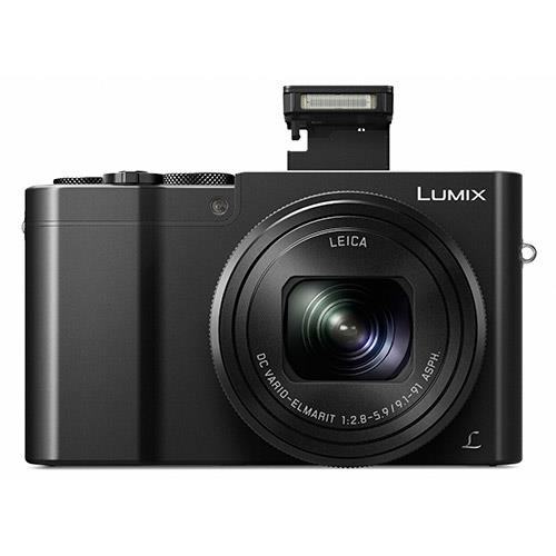 Lumix DMC-TZ100 Camera in Black Product Image (Secondary Image 3)