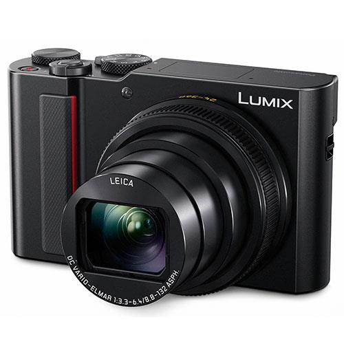 Lumix DMC-TZ200 Camera in Black Product Image (Primary)