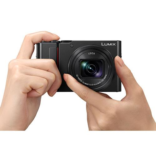 Lumix DMC-TZ200 Camera in Black Product Image (Secondary Image 6)