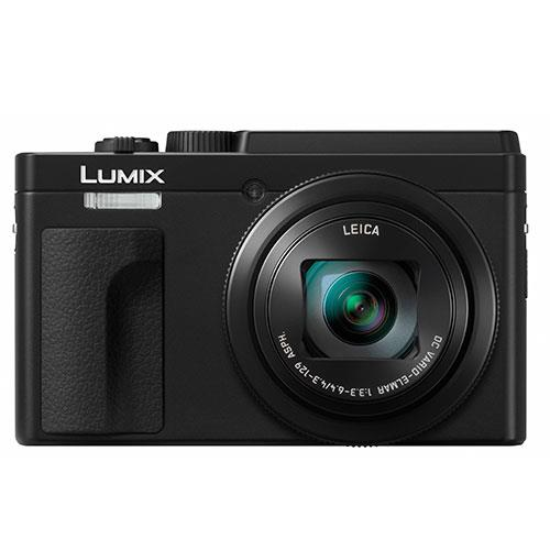 Lumix DC-TZ95 Camera in Black Product Image (Primary)