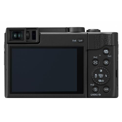Lumix DC-TZ95 Camera in Black Product Image (Secondary Image 1)