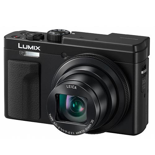 Lumix DC-TZ95 Camera in Black Product Image (Secondary Image 2)