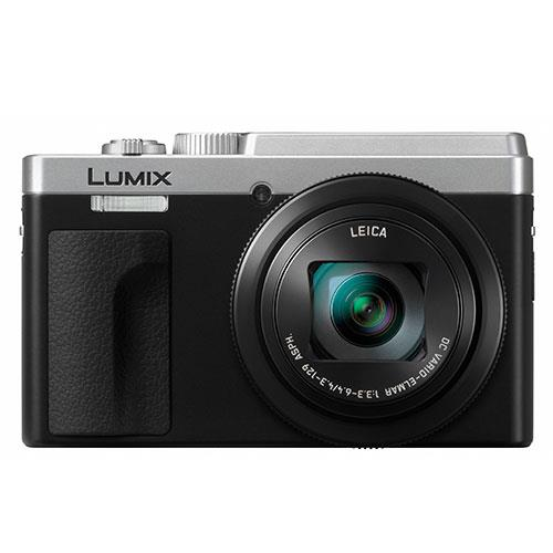 Lumix DC-TZ95 Camera in Silver Product Image (Primary)