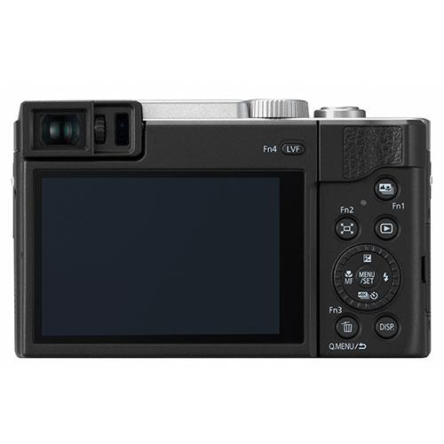Lumix DC-TZ95 Camera in Silver Product Image (Secondary Image 1)