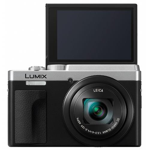 Lumix DC-TZ95 Camera in Silver Product Image (Secondary Image 2)