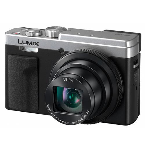 Lumix DC-TZ95 Camera in Silver Product Image (Secondary Image 3)